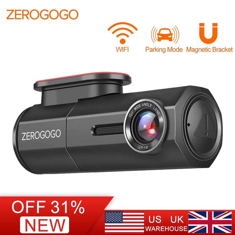 ZEROGOGO DVR Mini caméra de bord caméra Wifi DVR Full HD 1080 P enregistreur automatique pour Vision nocturne de voiture Novatek 150 degrés g-sensor