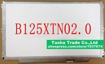 For HP Elitebook 820 G2 B125XTN02.0 B125XTN02 0 eDP HD 30 pin LED LCD Screen Display Panel Matrix 1366*768