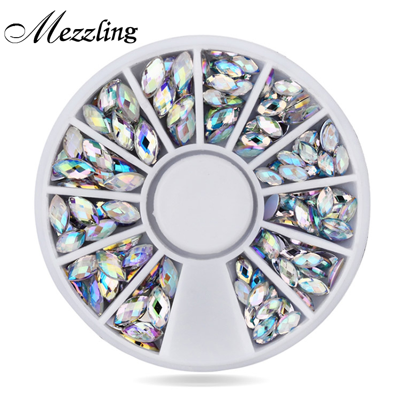 New Crystal AB Nail Art Rhinestones,2 sizes Fashion Glitter Nail Beads Craft,Beauty Manicure Nail Decorations 10g box clear nail caviar micro beads 3d glitter mini beans tiny tips decorations diy nail art rhinestones manicure accessories