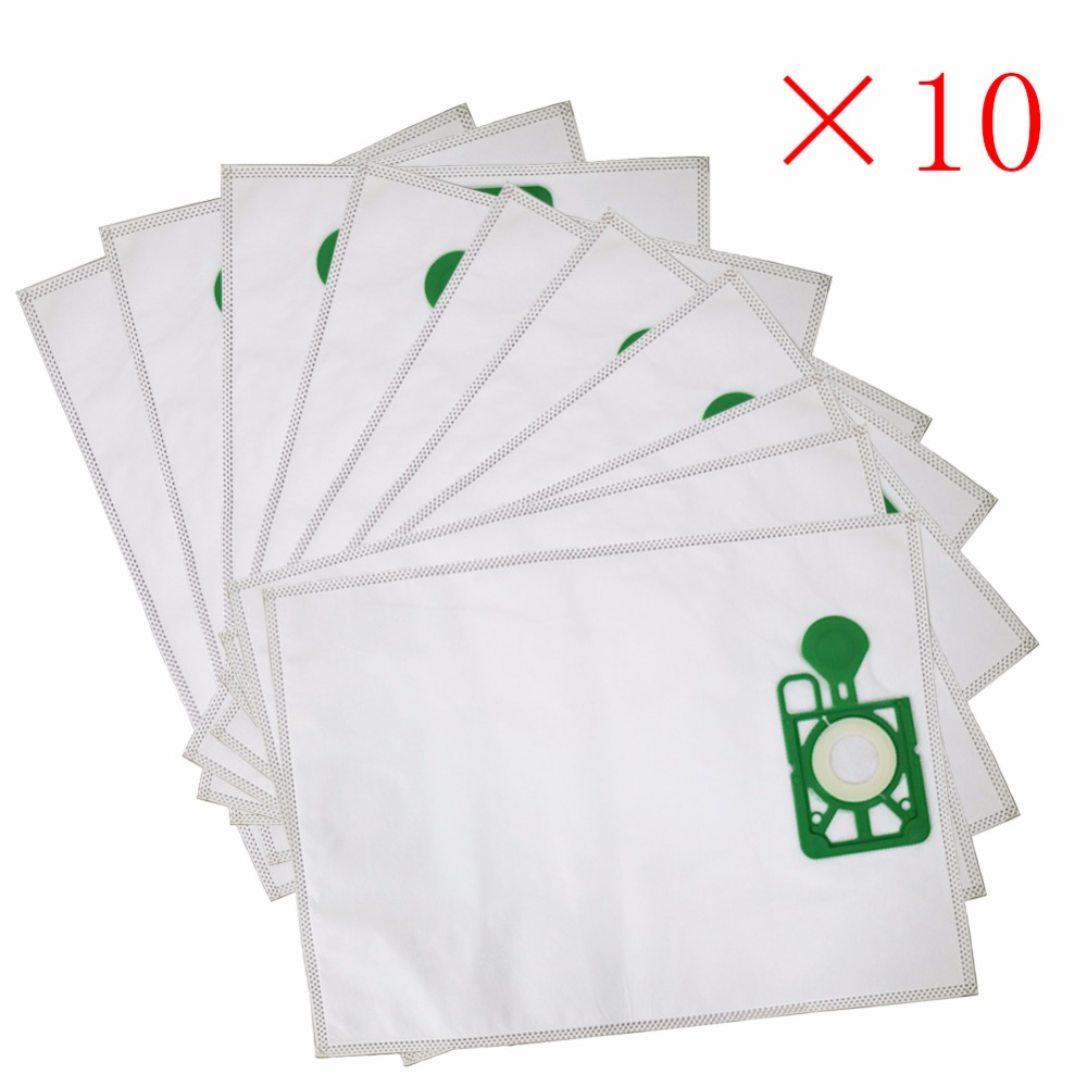 10pcs/lot Vacuum Cleaner Bags HEPA Filter Dust Bag replacement for Numatic NVM-1CH Henry James JVH 180 JVC200, JVC225 JVC235