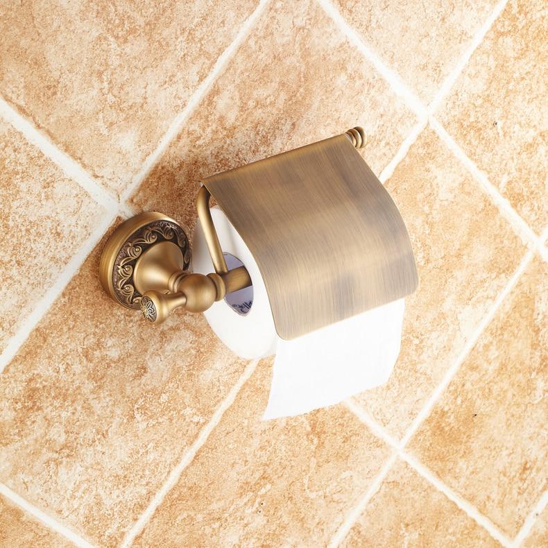 2017 для ванной Banyo Aksesuarlari медь ограниченная продажа аксессуары для держатель туалетной бумаги полотенце висит в загородном оборудование рез…