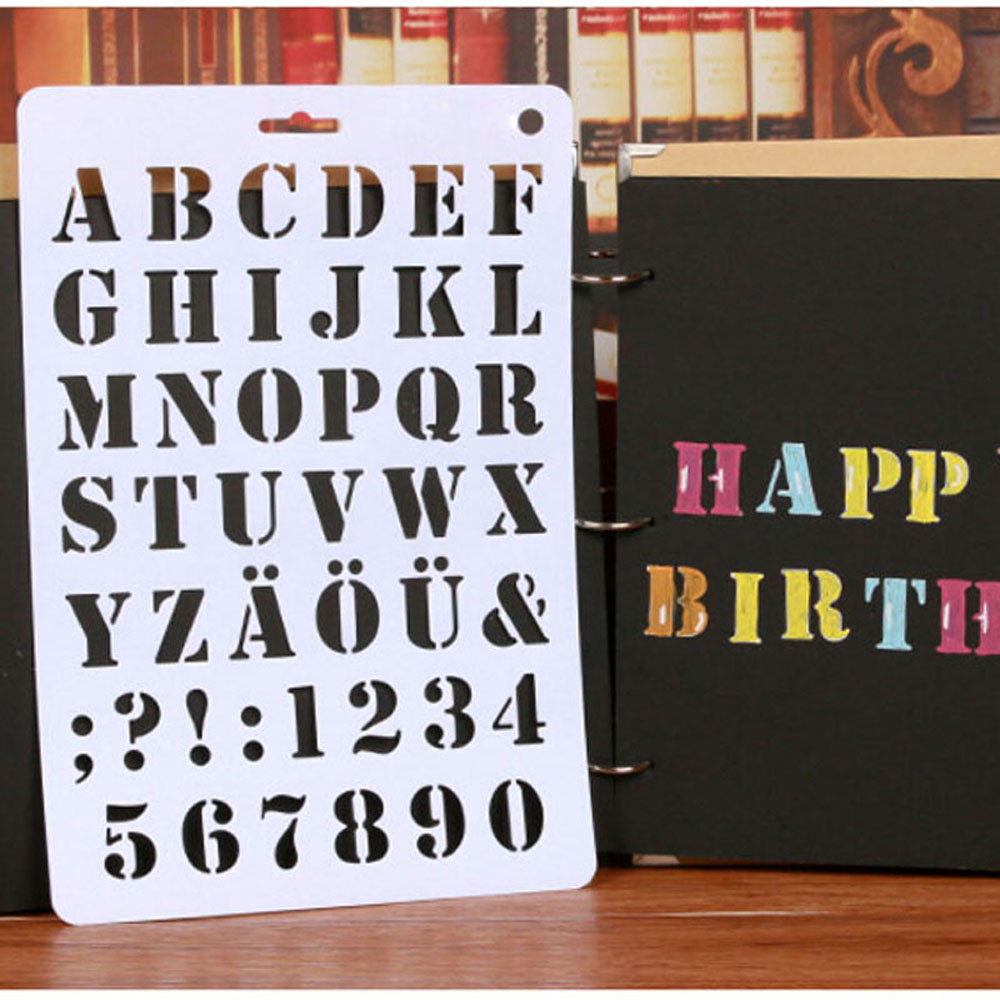 buy 3 stencil letters and get free shipping on aliexpress com