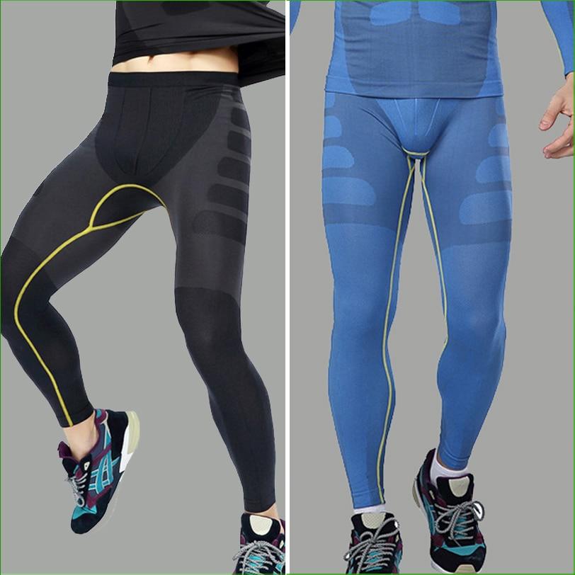 RP06M muške teretane koje trče brzo suhe fitnes hlače treniraju sportske duge nogavice uske kompresijske hlače