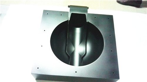 Aluminum alloy industrial mockup/hand model machining cases