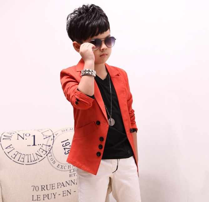 b24461cd6 ... 2019 Hot Sale children's spring casual suits boys jackets wholesale  Korean style long sleeve blazers, ...
