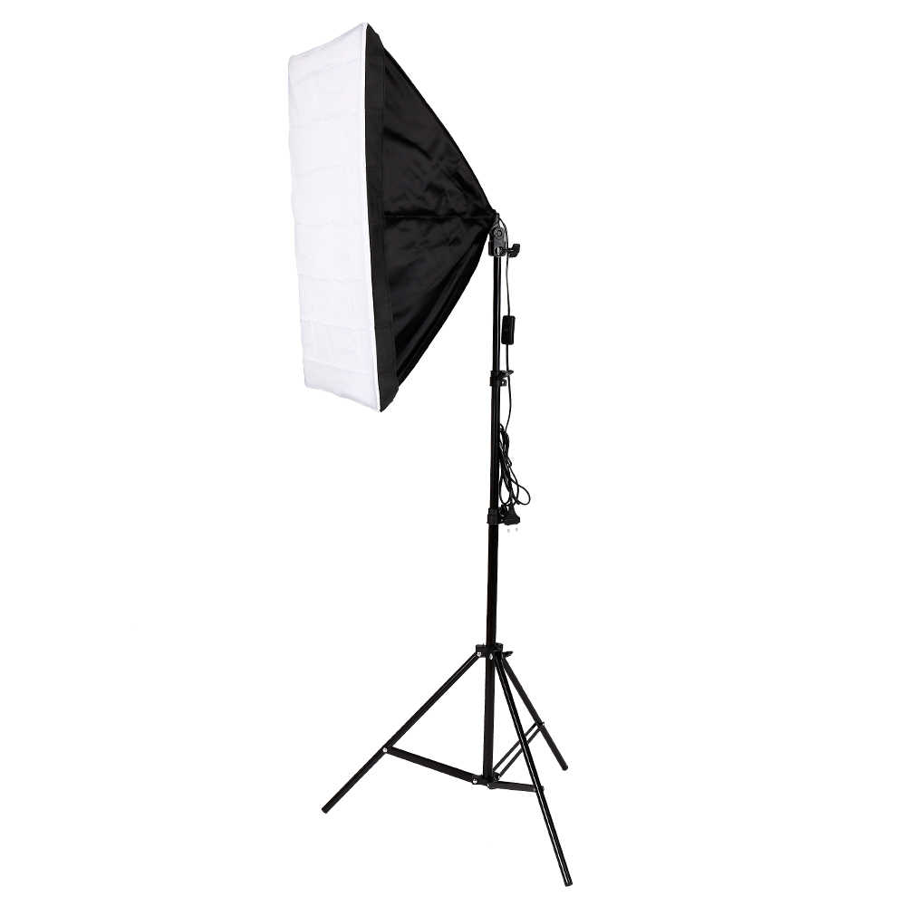 Photo Studio Accessorie 50cm*70cm /19.7inch*27.6inch Single lamp Photography soft box with 2m light stand