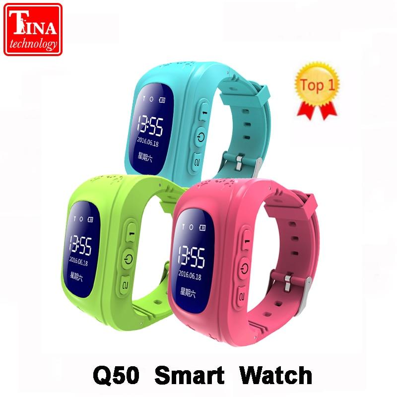 Q50 OLED Bildschirm GPS Smart Kid Uhr SOS Anruf Location Finder Locator Tracker für Childreb Anti Verloren Monitor Baby Armbanduhr
