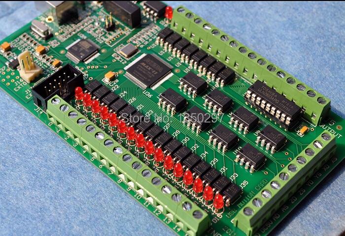 4 Axis Mach3 CNC USB Smooth Stepper Motion Controller Card