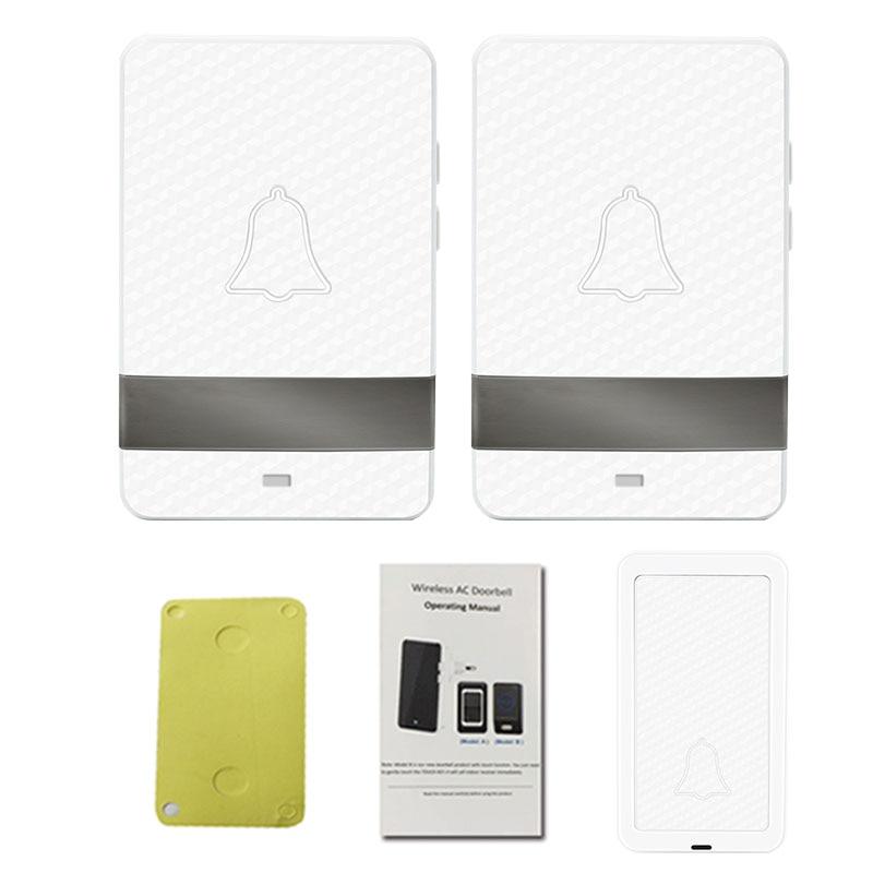 Wireless  Long  Distance 1v2 Indoor  Doorbell Welcome Chime Wireless  Long  Distance 1v2 Indoor  Doorbell Welcome Chime