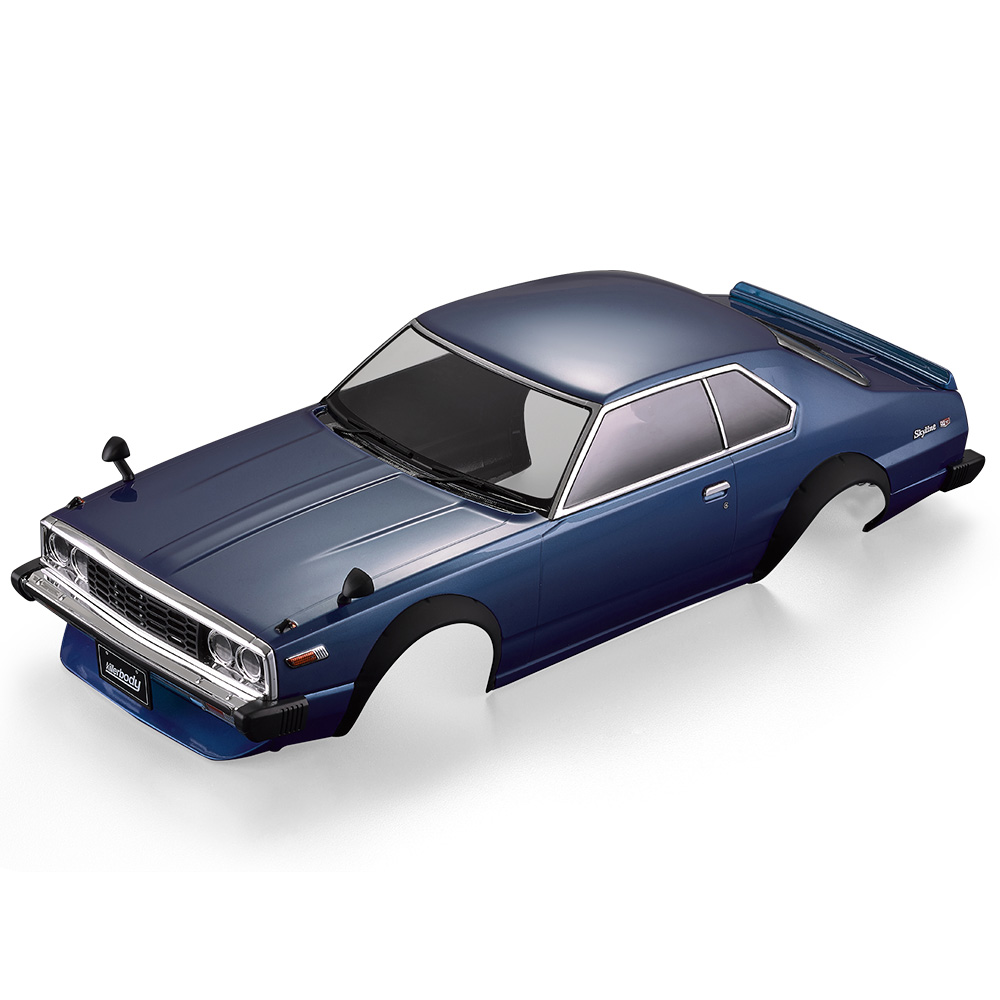 RC Car Body Shell 48701 1977 Skyline Hardtop 2000 GT-ES Finished Shell Frame for 1:10 Electric Touring RC Racing Car DIY Parts 022 blue shell body for 1 10 rc racing car 1 10 rc car body shell 190mm 2pcs lot free shipping