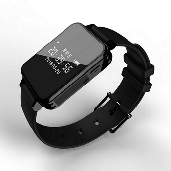 Vandlion V81 Digital Voice Activated Audio Recorder Watch Dictaphone Sports Pedometer HIFI Music Player Smart Wrist Watch MP3