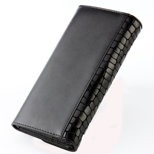 Image 4 - Moda kadın cüzdan hakiki deri yüksek kalite uzun tasarım debriyaj dana cüzdan moda kadın çanta Portefeuille Femme 168