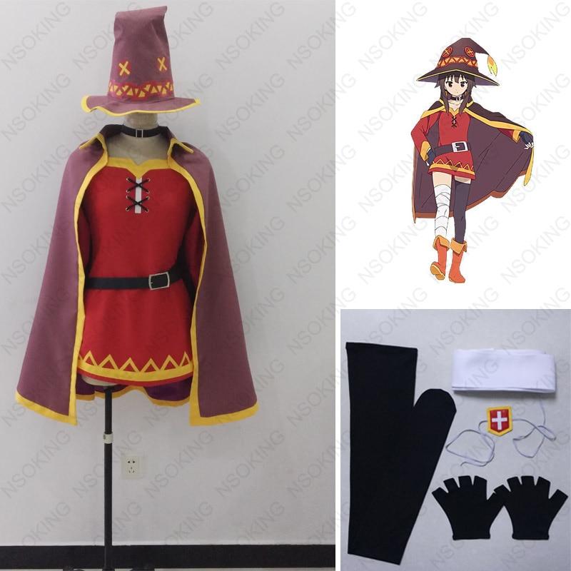 Kono Subarashii Sekai ni Shukufuku Wo Cosplay Megumin Costume