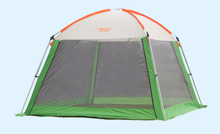 6 8 persons large pergola outdoor park shade canopy fishing tent Anti rainstorm and Anti squally Super breathable-in Sun Shelter from Sports u0026 Entertainment ... & 6 8 persons large pergola outdoor park shade canopy fishing tent ...