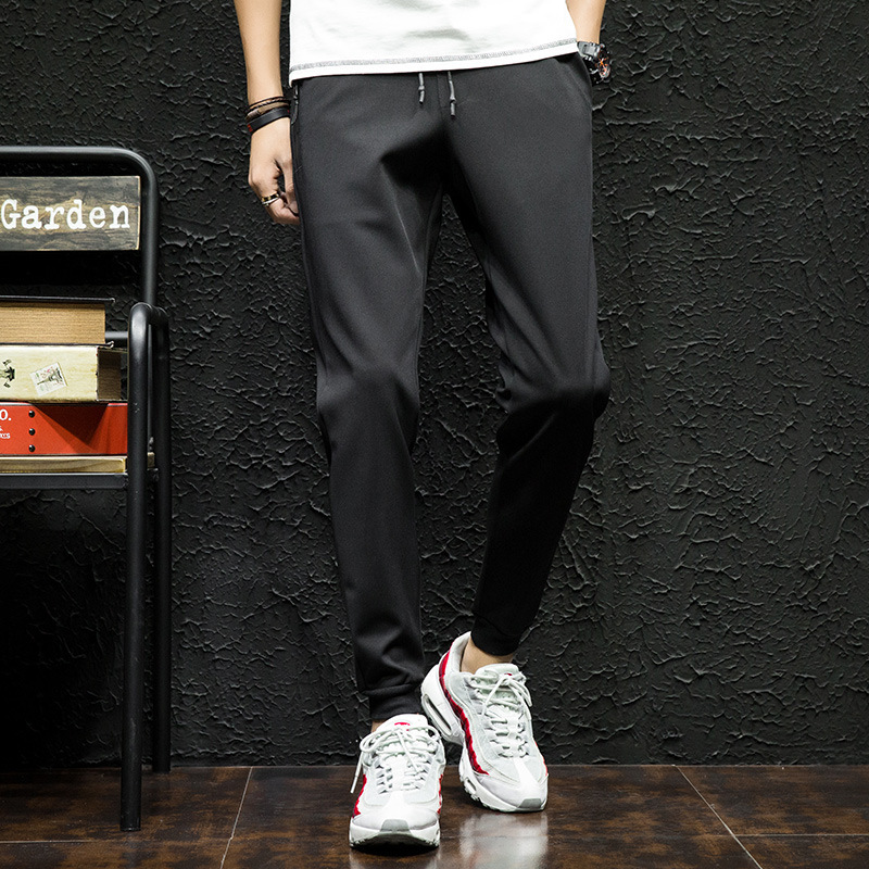 2019 Autumn Brand College Men's Sports Pants Running Athlete Men's Casual Sports Pants Bodybuilding Clothing High Quality Pants
