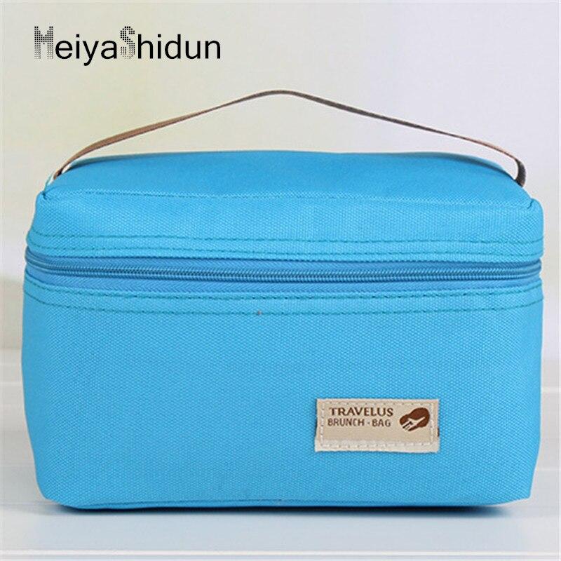 Meiyashidun children Portable Ice Bag Waterproof Thermal Cooler Bag Lunch Picnic Pouch Bento Box Student Food
