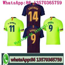 e7cc8f4bd 2018NEW Barcelonaes jersey 18 19 Home away from football soccer t-shirts  MESSI shirt COUTINHO football Soccer jersey