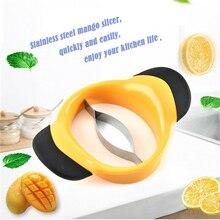 Манго сплиттер слайсер резак персик разделитель для фруктов большой нож для разрезания манго яма удаления манго сплиттеры резки