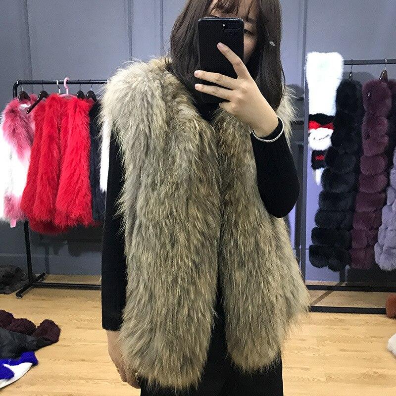 Gilet Court Hc Manteau De Fourrure D'hiver Automne Femelle Mode Naturel Jkp Laveur Veste En 17 Femmes Nouvelles Et A Raton Paragraphe Cuir CFwxPXOq