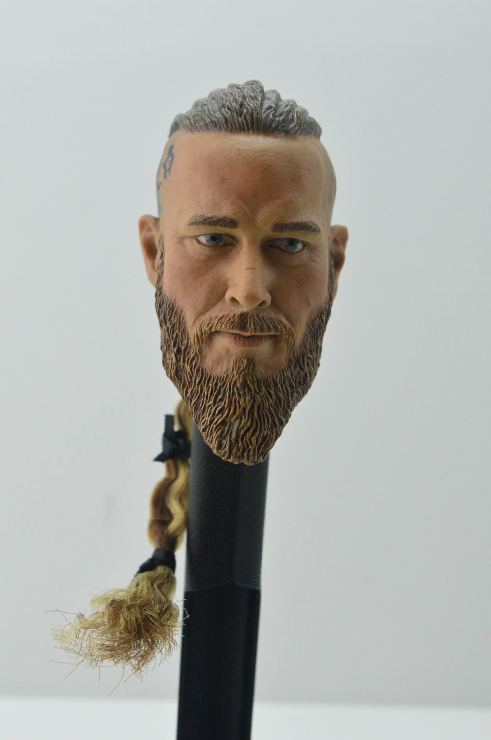 1/6 Head Sculpt Viking Travis Fimmel For Muscle Body Hot Toys