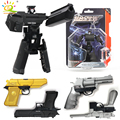 Игрушечные пушки HUIQIBAO  трансформация  деформируемое оружие в виде орла  металлический сплав  игрушечные фигурки для детей  8 стилей