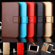 AiLiShi Case For Fly Stratus 6 FS407 3 7 8 9 FS458 FS409 5S Luxury Leather Flip Cover Phone Bag Wallet Holder Tracking