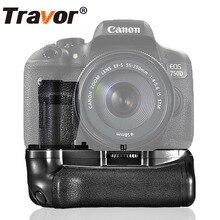 Профессиональный батарейный блок для камеры Canon 750D 760D T6i T6s X8i 8000D как BG-E18
