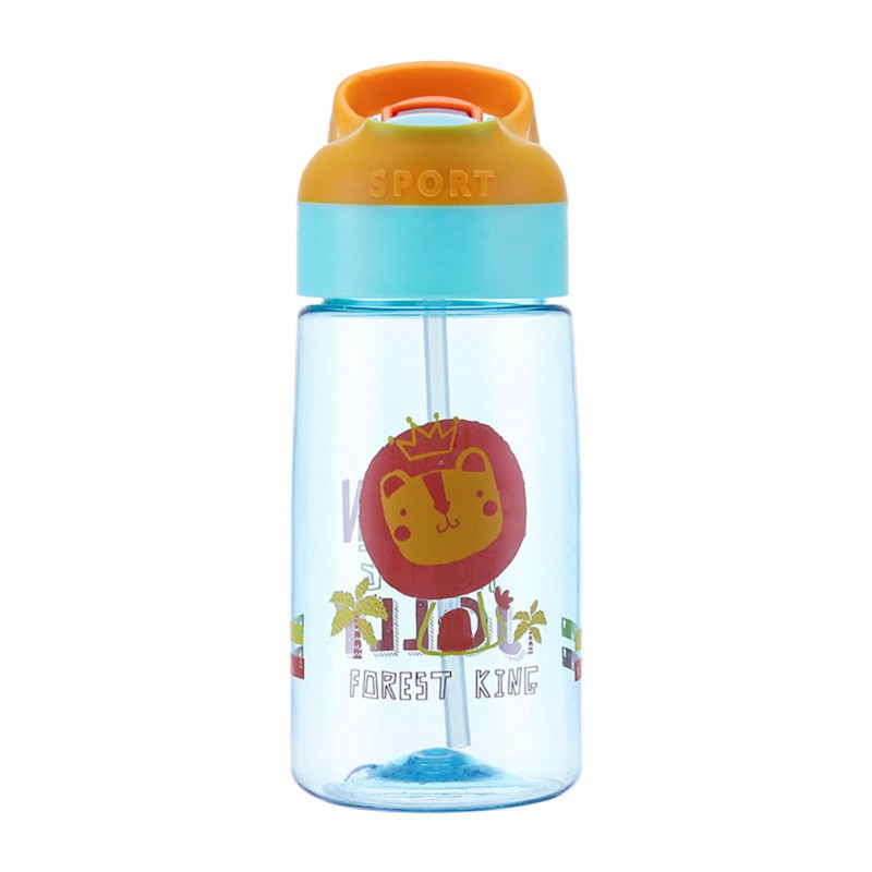 Baby Kids Infants Children School Drinking Water Straw Bottle Sippy Suction Cup