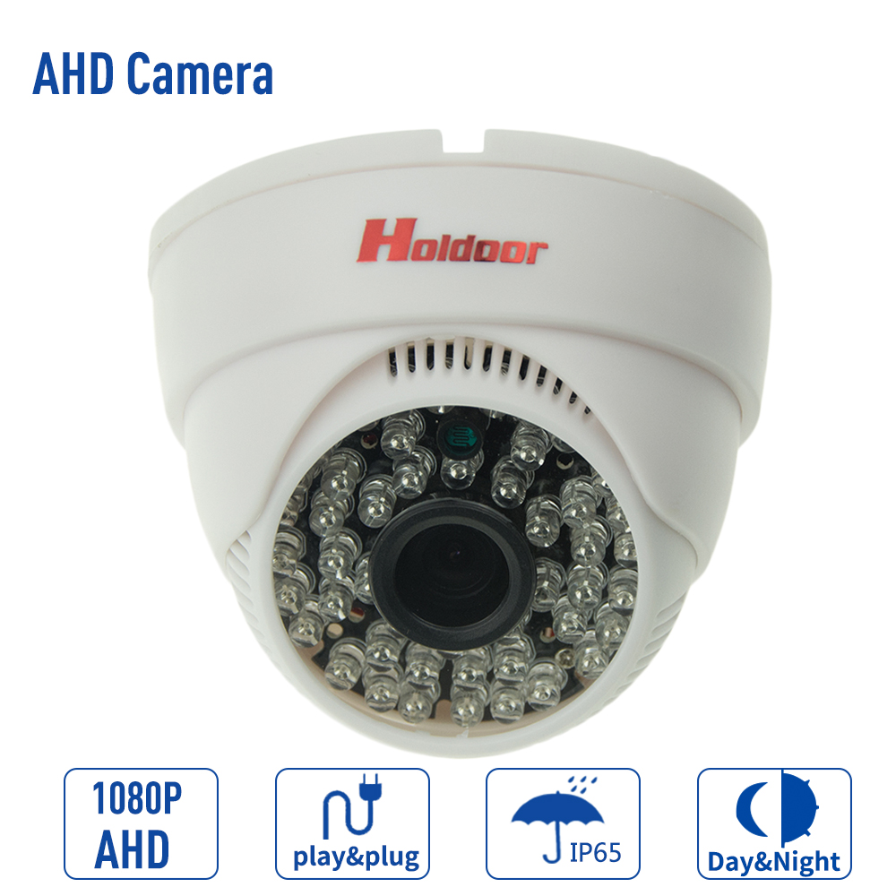 New Home 1MP HD AHD 720P Camera Security CCTV White Mini Dome 36LED infrared Night Vision Surveillance Camera Plug and Play zea afs011 600tvl hd cctv surveillance camera w 36 ir led white pal