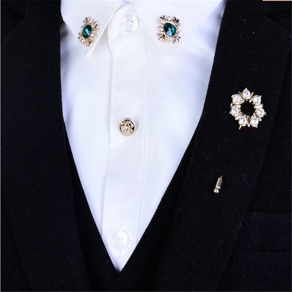 pin led s accessories diamond dress dot item men fashion in mens from the suit clothes on crystal angle jewelry brooches brooch