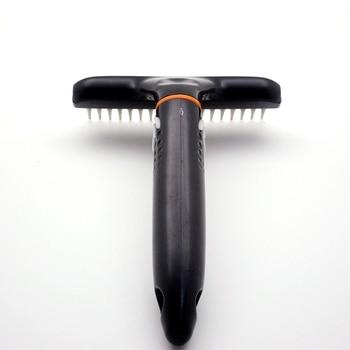 Stainless Steel Hair Removal Rake  2