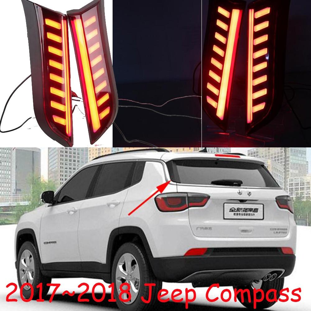 car styling,Compass rear light,2017 2018,LED,compass taillight,cherokee,comanche,commander,Liberty,patriot,tj;Compass fog light цена