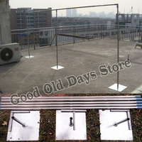 Extra Thicker Durable Adjustable pipe Stainless Steel Wedding Backdrop Stand Backdrop 4*8M wedding stage Background frame