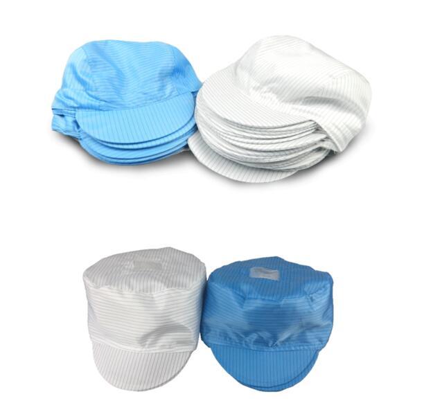 Atmungsaktiv Anti-statische Kappe-freies Verschiffen Seien Sie In Geldangelegenheiten Schlau Staub-freies Kappe Anti-statische Kappe Runde Kappe