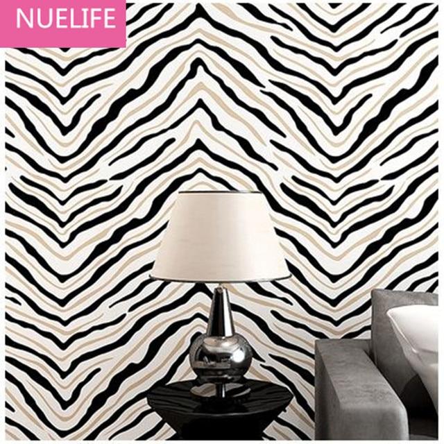 Zebra Behang. Terrazzo Rose. Beibehang Custom Wallpaper Zebra Retro ...
