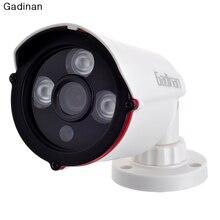 Gadinan Analog 800TVL/1000TVL Optional CMOS Color HD 3.6mm Lens 3 Array IR Cut Night Vision Bullet ABS Housing