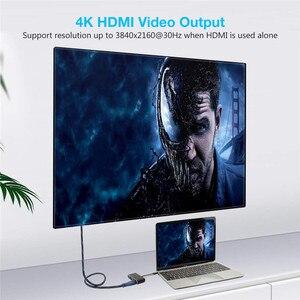 Image 4 - Thunderbolt 3 USB3.1 type C naar HDMI/VGA/USB/PD kabel voor laptop met HD display