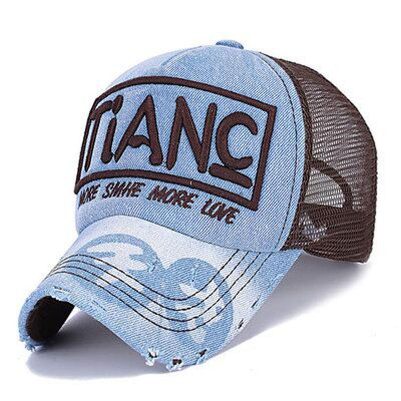 2017 New Brand High Quality Leisure Snapback Caps Men Women Baseball Cap Cowboy Net Cap