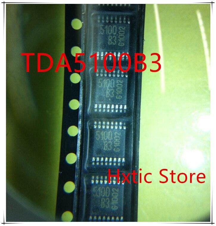 NEW 10PCS/LOT TDA5100B3 5100B3 5100 TDA5100 TSSOP-16