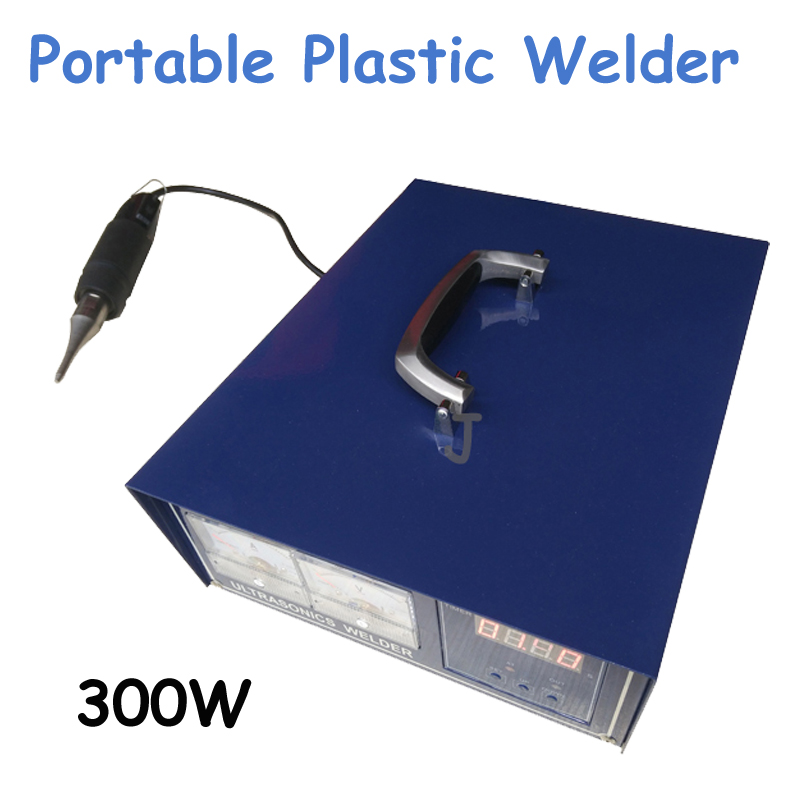 220V 300W Portable Plastic Welding Machine Ultrasonic Plastic Welding Machine Can Welder PE Material цены онлайн