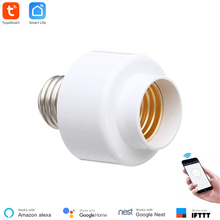 Tuya Smart Slampher WiFi Remote Wifi LED Light Bulb Holder Real Timer for Smart Home Compatible with Alexa echo Google home