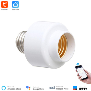 Image 1 - Tuya Smart Slampher WiFi Remote Wifi LED Light Bulb Holder Real Timer for Smart Home Compatible with Alexa echo Google home