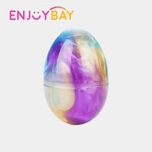 Enjoybay Crystal Slime Clay Egg Моделювання Іграшки Барвистий Playdough Кристал м'яч м'який Пластилін Грязь DIY Toy для дітей Подарунки для дітей