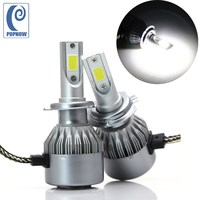 POPNOW H7 72W Car COB LED Headlight Bulbs Kit Auto Headlamp 6000K For Mercedes Benz B200