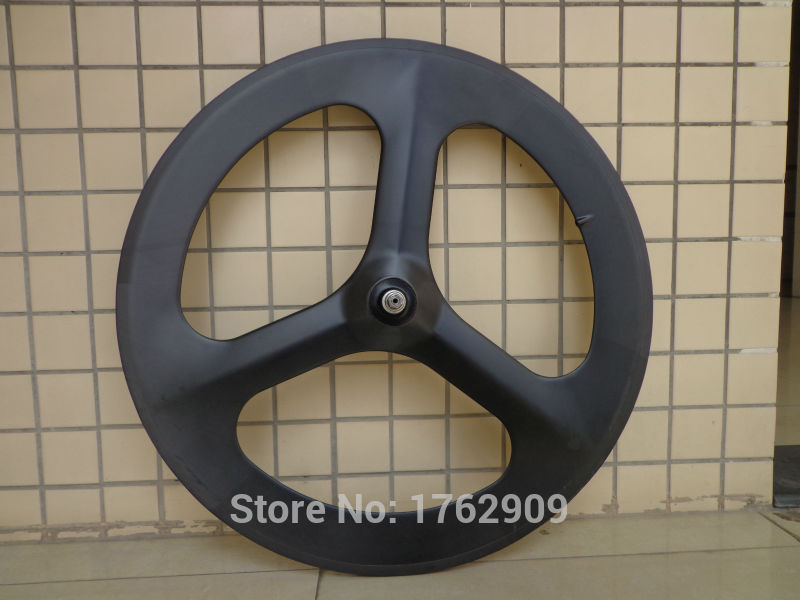New 700C Fixed Gear Track Road bike 3 spokes and tubular rim integrated matt UD full carbon bicycle wheelsets with hub Free ship new 700c road fixed gear track bicycle matt 3k full carbon bike wheelset 3 spokes and tubular rim integrated with hub free ship