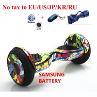 10 Inch Electric Scooter Balancing Hoverboard Self Smart Balance Two 2 Wheel Standing Scooters Unicycle Pneumatic
