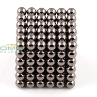 OMO Magnetics 216pcs Super Magnet Diameter 4mm Nickel Magnet Rare Earth Strong Power Magnets For Industry