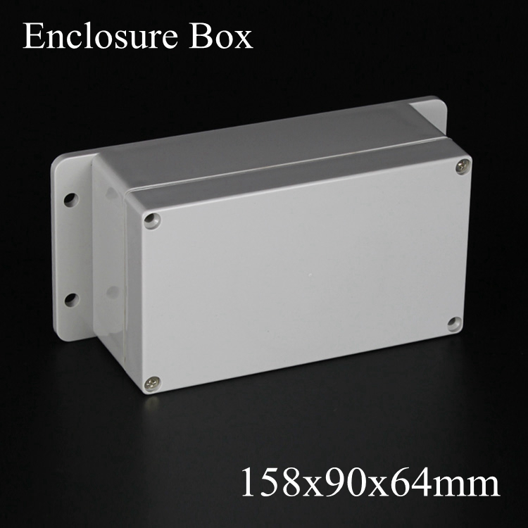 158*90*64mm IP66 ABS Waterproof electronic enclosure project box Distribution control switch junction outlet case 158x90x64mm 175 175 100mm ip67 abs electronic enclosure box distribution control network cabinet switch junction outlet case 175x175x100mm