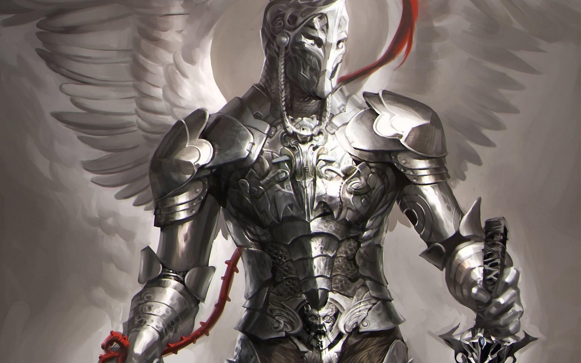 the white demon knight - photo #43