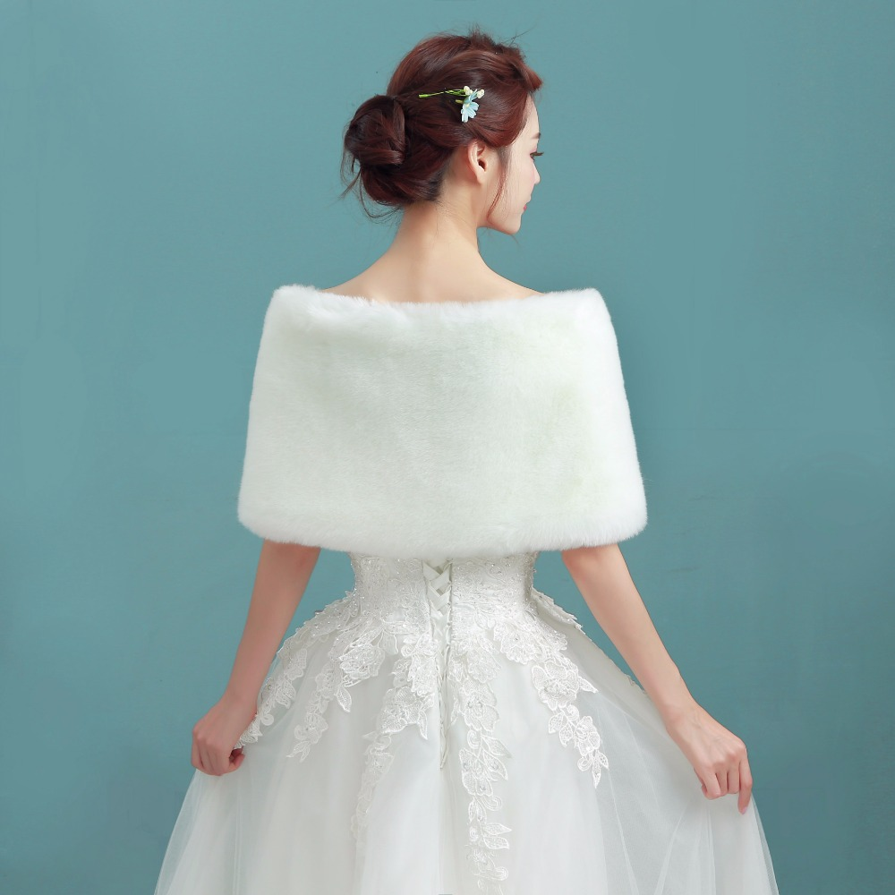 NZUK Hot Sale Cheap Fashion Wedding Jacket Bride Wraps Winter ...